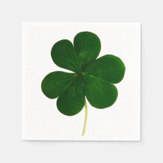 Shamrock Clover Photography St. Patrick Party Paper Napkin