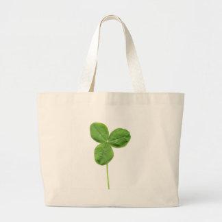Shamrock clover trefoil trifolium leaves bags
