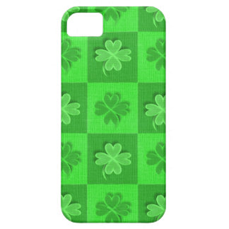 Shamrock Clovers Barely There iPhone 5 Case