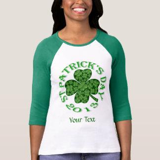Shamrock collage  St Patrick's day T-Shirt