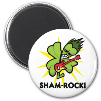 shamrock copy magnet