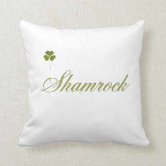 shamrock cushion