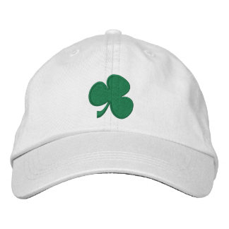 Shamrock Embroidered Hat