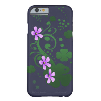 Shamrock Flowers Barely There iPhone 6 Case