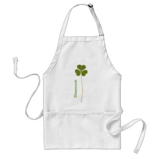 Shamrock for Saint Patrick s Day Aprons