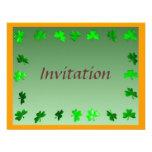 Shamrock Frame Invitation