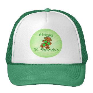 SHAMROCK GIRL HAPPY ST PATRICKS by SHARON SHARPE Hats