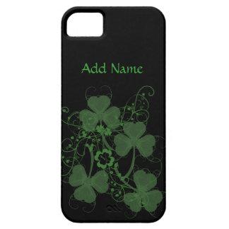 Shamrock Graphic Custom iPhone 5 Cases