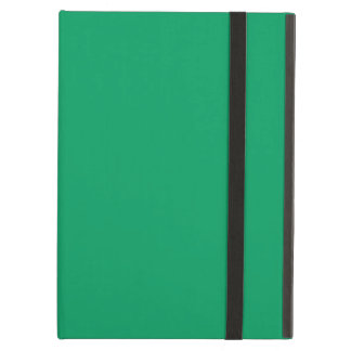 Shamrock Green Color Background Ireland Green iPad Air Cases