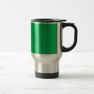 Shamrock Green 15 Oz Stainless Steel Travel Mug