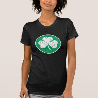 Shamrock Grunge Tshirts