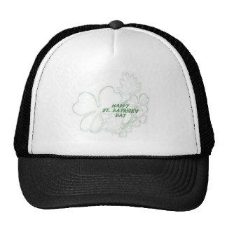 Shamrock Happy St. Patrick's Day Hat