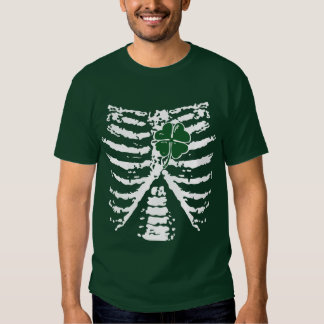 Shamrock heart tshirts