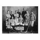 Shamrock Hockey Team, Montreal, QC 1899` Postcard
