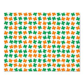 Shamrock 4.25x5.5 Paper Invitation Card