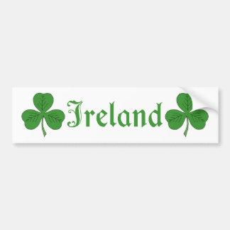 Shamrock Ireland Bumper Sticker