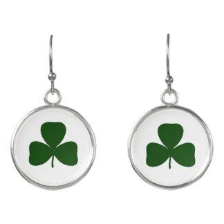 Shamrock, Ireland Irish Clover, St Patricks Day Earrings