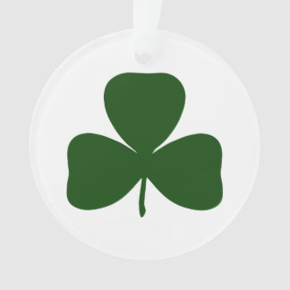 Shamrock, Ireland Irish Clover, St Patricks Day Ornament