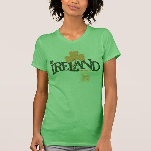Shamrock Ireland Quidditch T Shirts