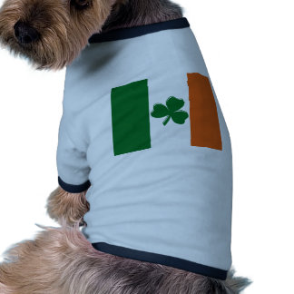 Shamrock Irish Flag Design from U.S. Custom Ink Dog Clothing
