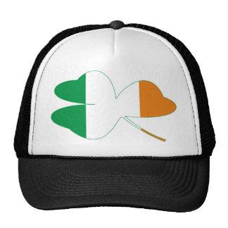 Shamrock Irish Flag Mesh Hat
