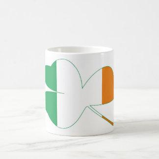 Shamrock Irish Flag Coffee Mug