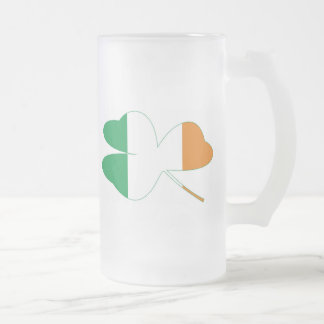 Shamrock Irish Flag Coffee Mugs