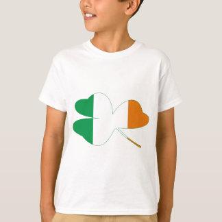 Shamrock Irish Flag Tshirt
