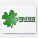 Shamrock Irish Mousepad!