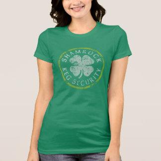 Shamrock Keg Security St Patrick's Day T Shirts