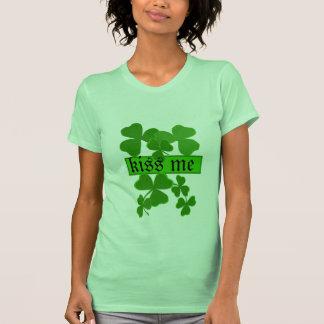 Shamrock Kiss Me Personalized Shirts