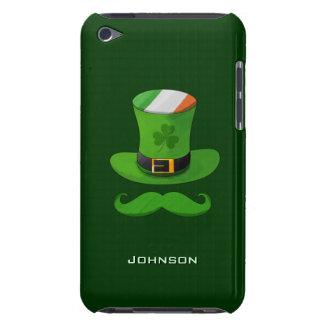Shamrock Leprechaun Hat of Ireland Flag & Mustache iPod Touch Cases