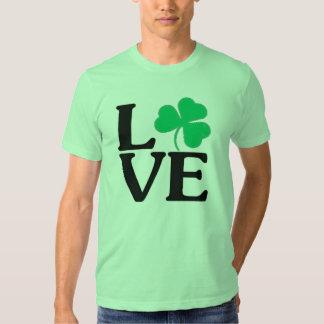 SHAMROCK LOVE ST. PATRICK'S DAY SHIRT