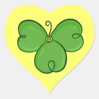 Shamrock Lucky Green Clover sticker