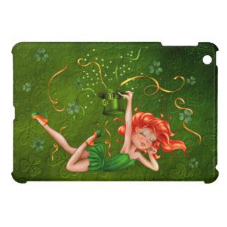 Shamrock Party Girl Cover For The iPad Mini