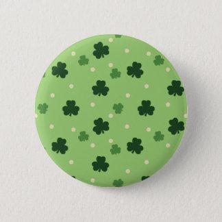 Shamrock Pattern Button