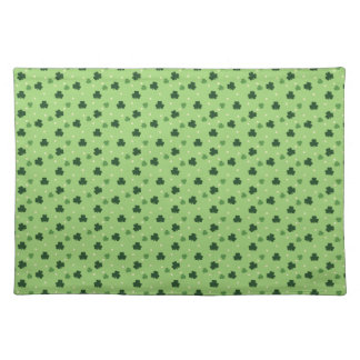 Shamrock Pattern Cloth Placemat