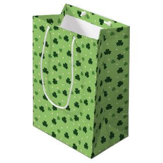 Shamrock Pattern Gift Bag