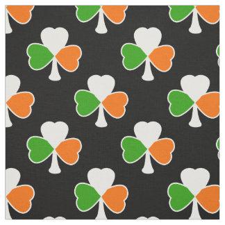 Shamrock Pattern | Irish Flag Fabric
