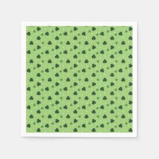 Shamrock Pattern Paper Napkins