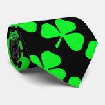 Shamrock Pattern Saint Patrick's Day Tie