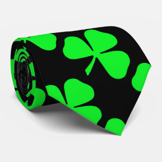 Shamrock Pattern Saint Patrick's Day Tie