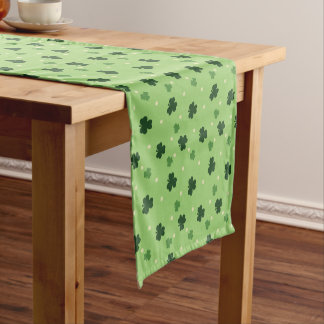 Shamrock Pattern Table Runner