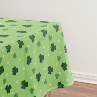 Shamrock Pattern Tablecloth