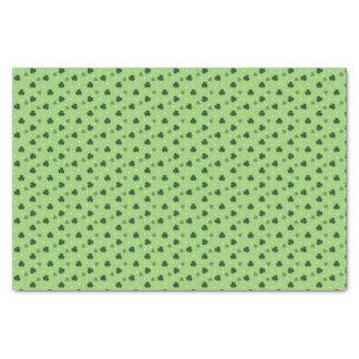 Shamrock Pattern Tissue Paper