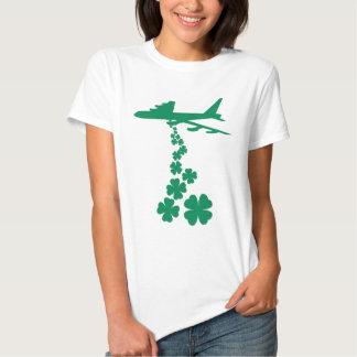 Shamrock Peace Bomber T-Shirt
