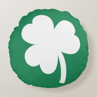 Shamrock Round Cushion