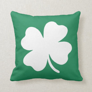 Shamrock  Saint Patricks Day Ireland Cushion