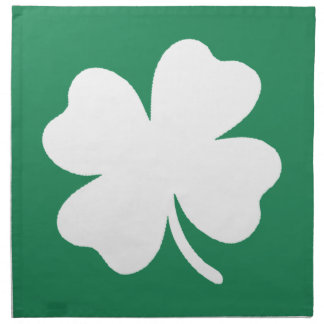 Shamrock  Saint Patricks Day Ireland Napkin