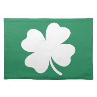 Shamrock  Saint Patricks Day Ireland Placemat